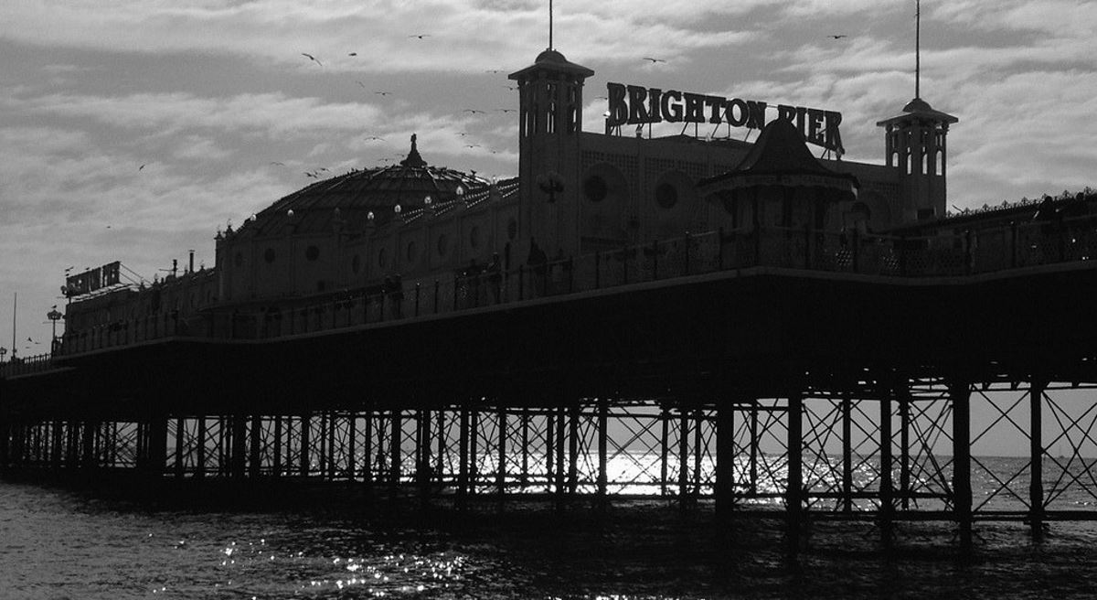 Brighton Pier - Photo credit - Ivan Bandura