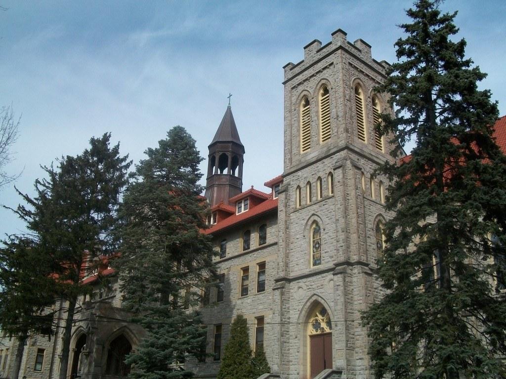 Stella Niagra Convent - Exterior of Main Chapel