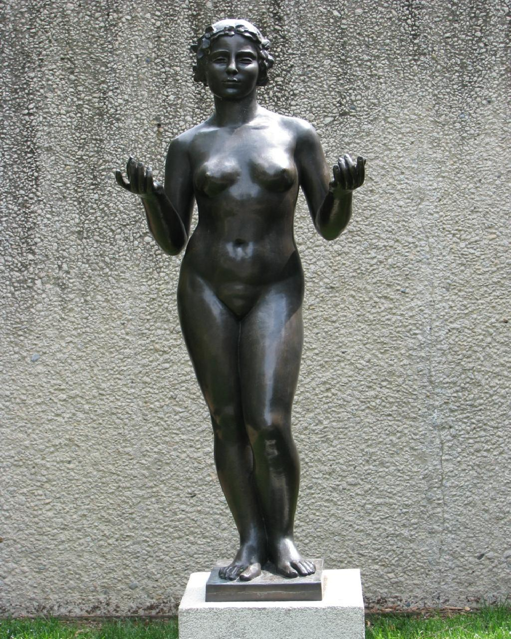 """Nymph (Central Figure For """"The Three Nymphs"""")"""