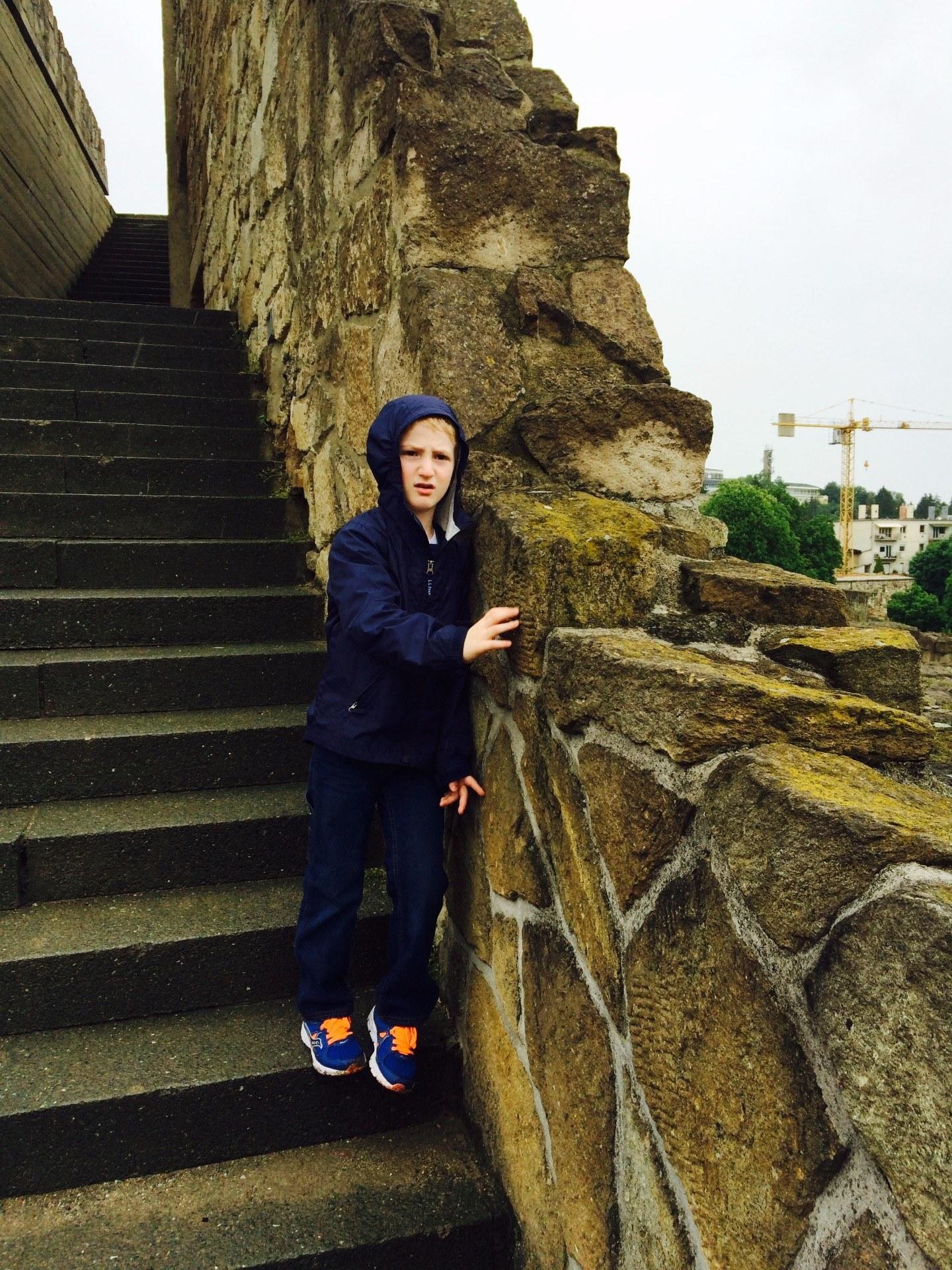 Castle Wall Zsofia McMullin