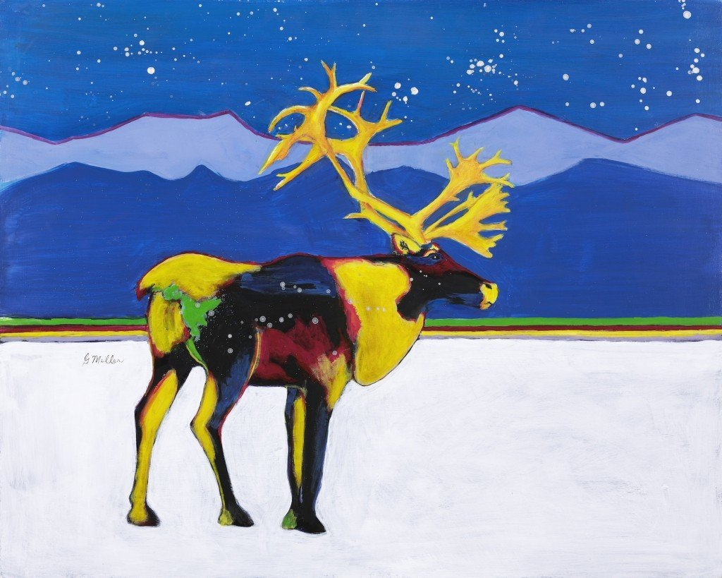 """Caribou"" by Gordon Miller"