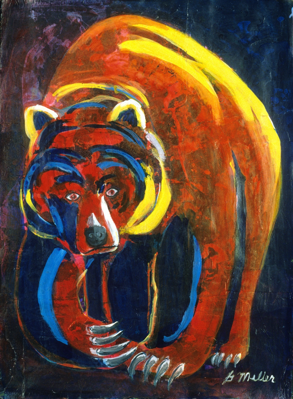 Red Bear by Gordon Miller