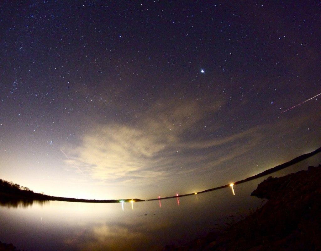 """Swirl night sky"" by David DeHetre"