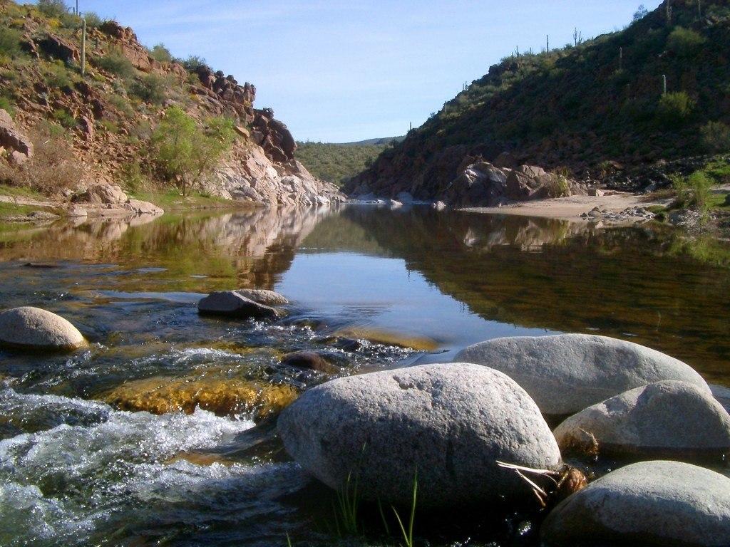 Santa Maria River--Sonoran desert--Terril Shorb photo