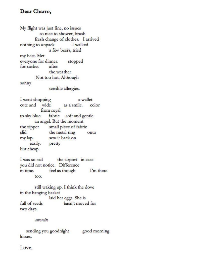 Dear Charro by Adam Gillings