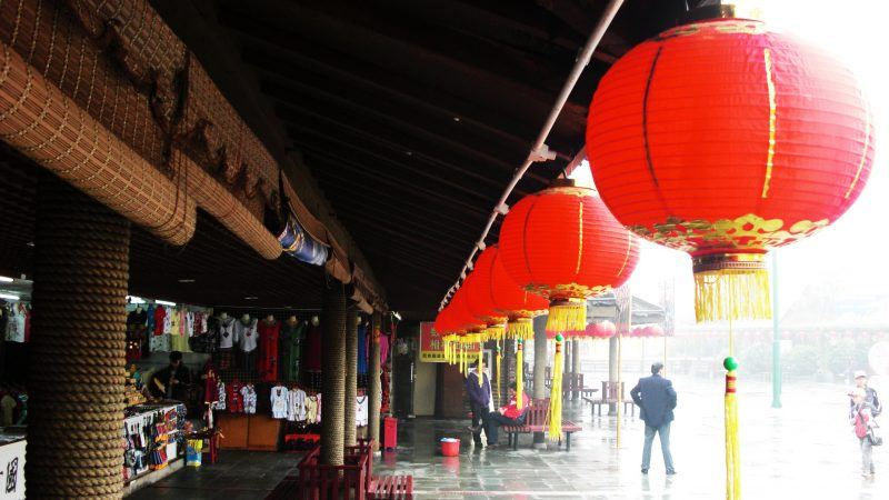 Suloke Mathai: Shops inside Splendid china