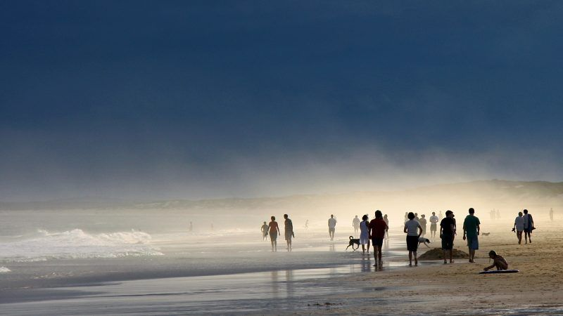 Beach, mist and impending storm Tim J. Keegan